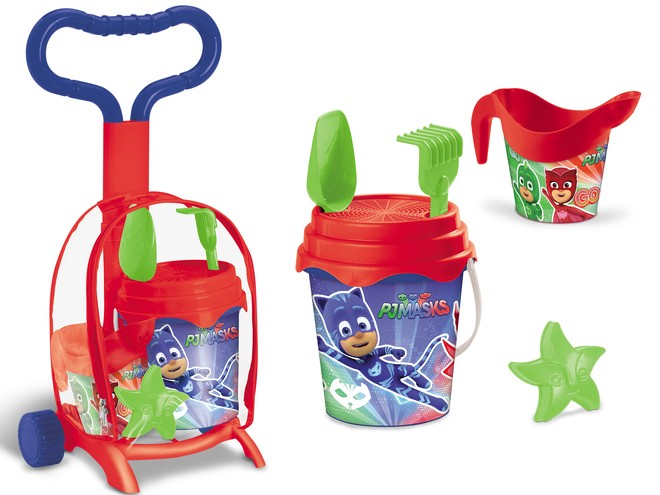 28439 - PJ MASKS TROLLEY SET