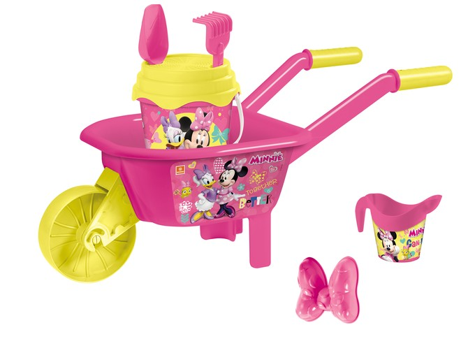 18843 - MINNIE WHEELBARROW SET