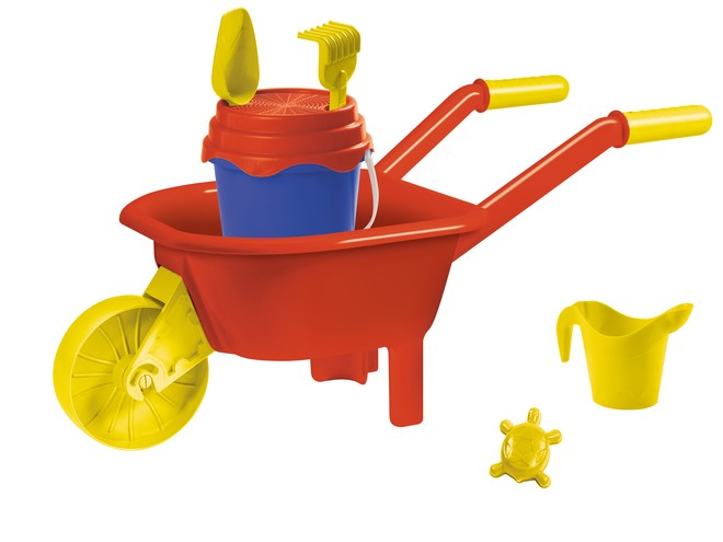 28231 - UNICOLOR WHEELBARROW SET