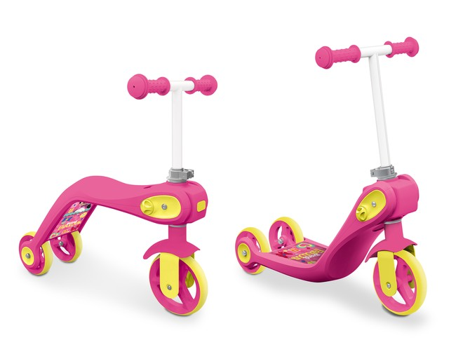 28326 - MINNIE SCOOTER 2 IN 1