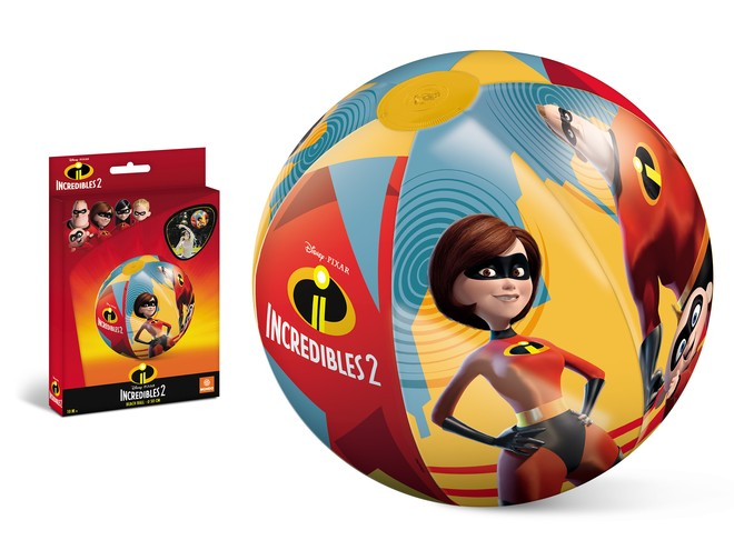 16668 - THE INCREDIBLES 2 BEACH BALL