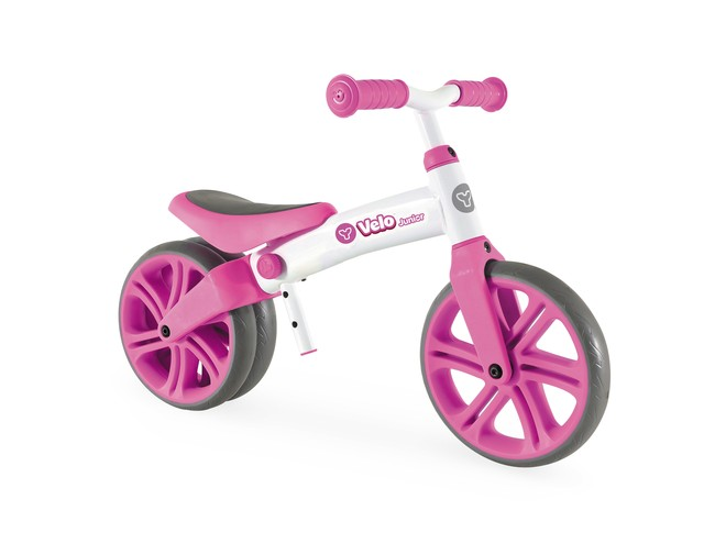 25342 - Y VELO JUNIOR BALANCE BIKE PINK