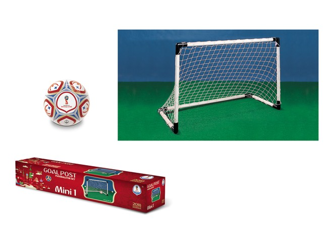 28403 - FIFA WORLD CUP 2018 - GOAL POST MINI