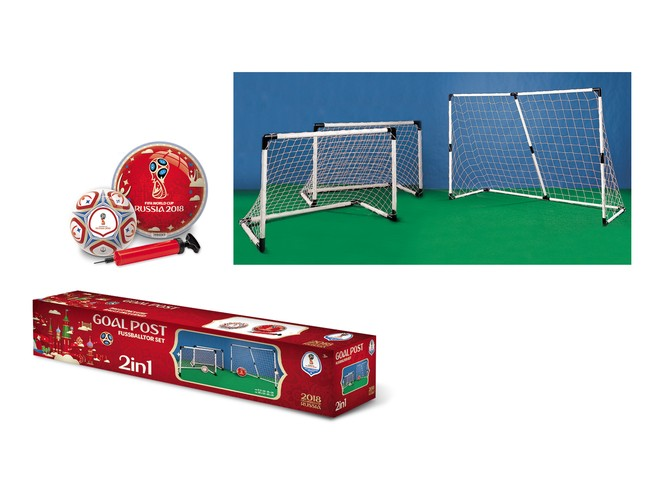 28405 - FIFA WORLD CUP 2018 - GOAL POST 2 IN 1